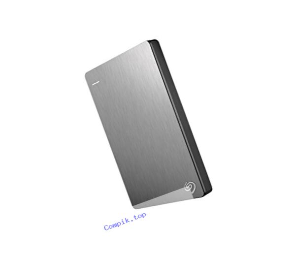 Seagate Backup Plus 4TB Portable External Hard Drive USB 3.0, Silver (STDR4000900)